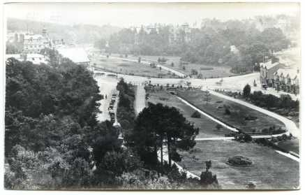 View of Central and Lower Gardens after completion (1870s)