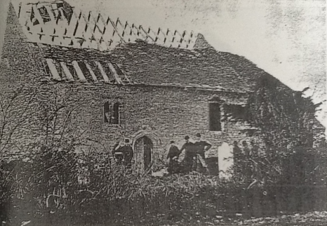 Lidsing Chapel from the south (c. 1880)